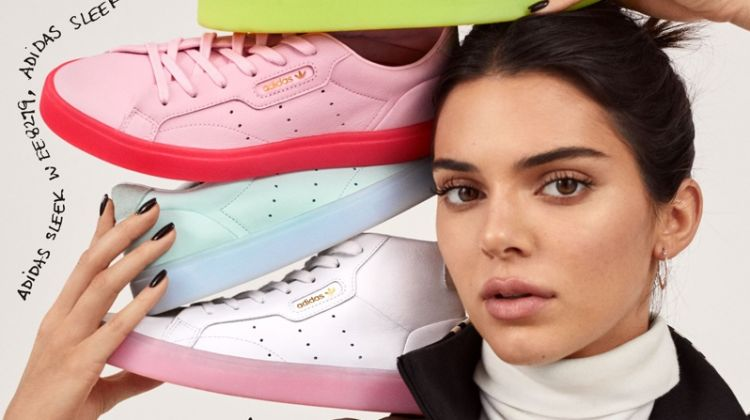 adidas Originals shows off the Sleek sneaker style with Kendall Jenner