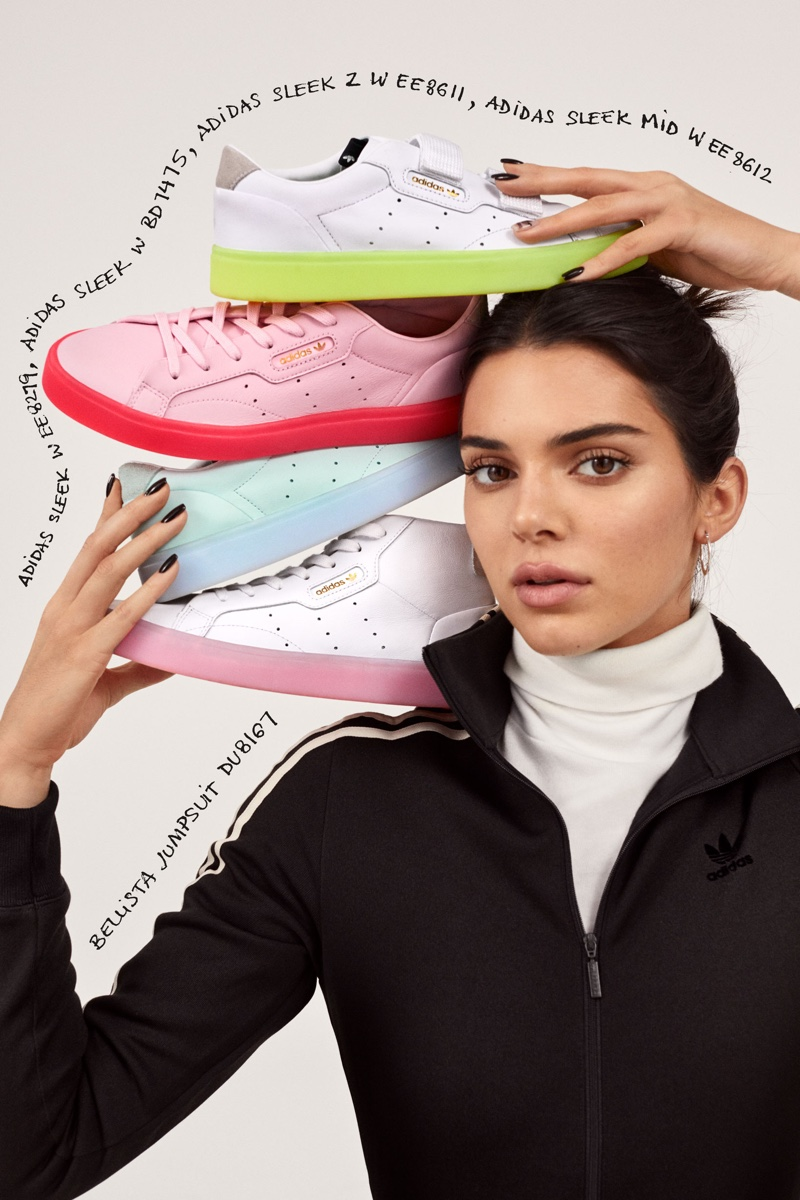 Kendall adidas Originals Sleek CampaignFashion Jenner oCeQrWEBdx