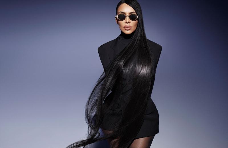 Kim Kardashian wears style from Carolina Lemke sunglasses collaboration