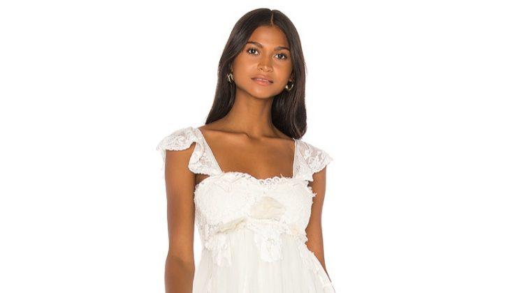 LOVESHACKFANCY Irene Bridal Gown $1,195