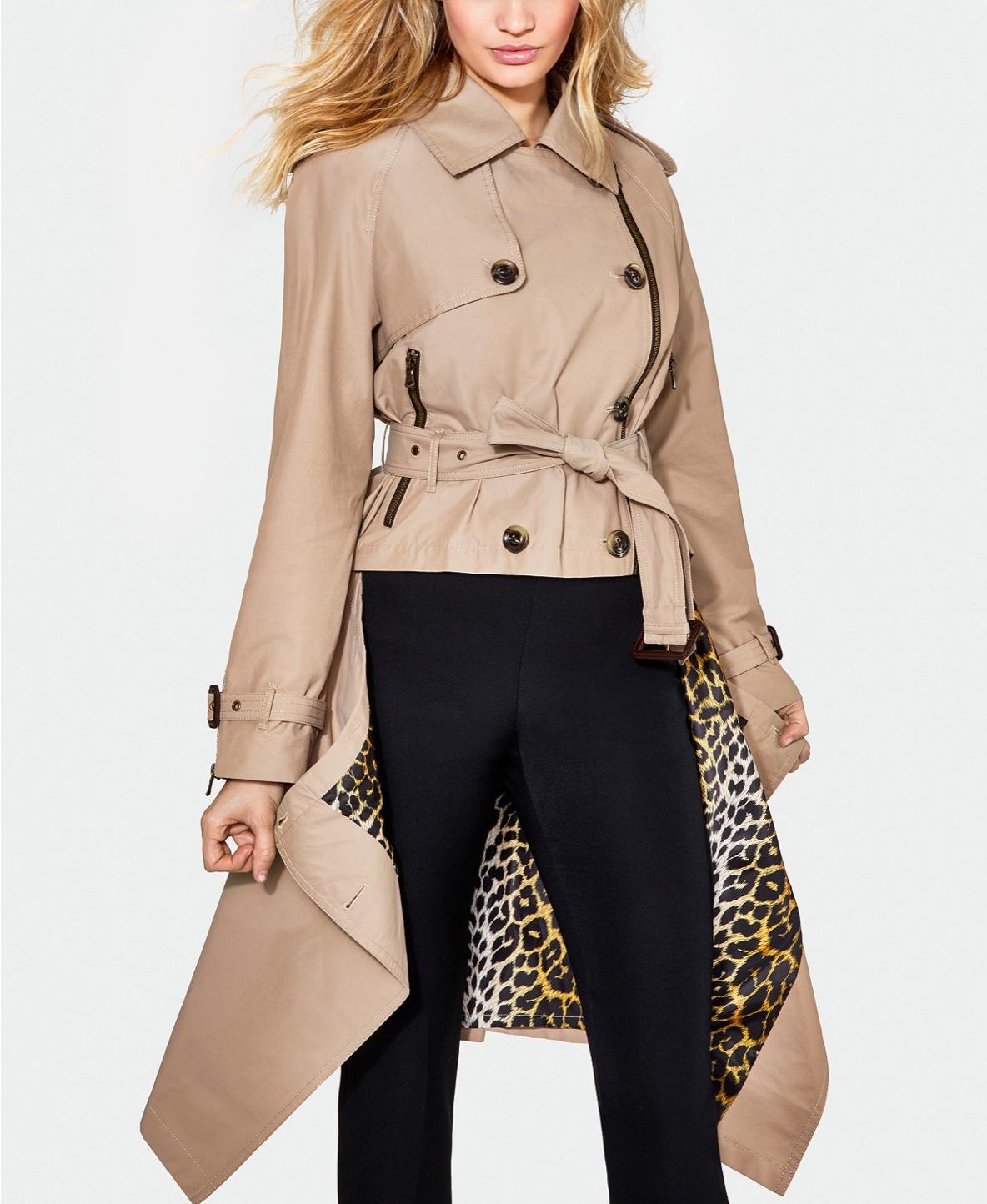 London Fog x Jeremy Scott Women's Raincoat $298