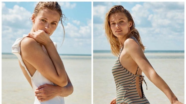 Madewell Second Wave Sustainable swimwear