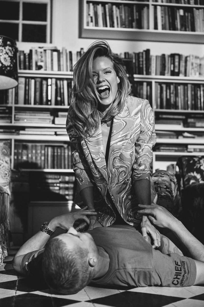 Marlijn Hoek Has a Spring Romance for IN Magazine