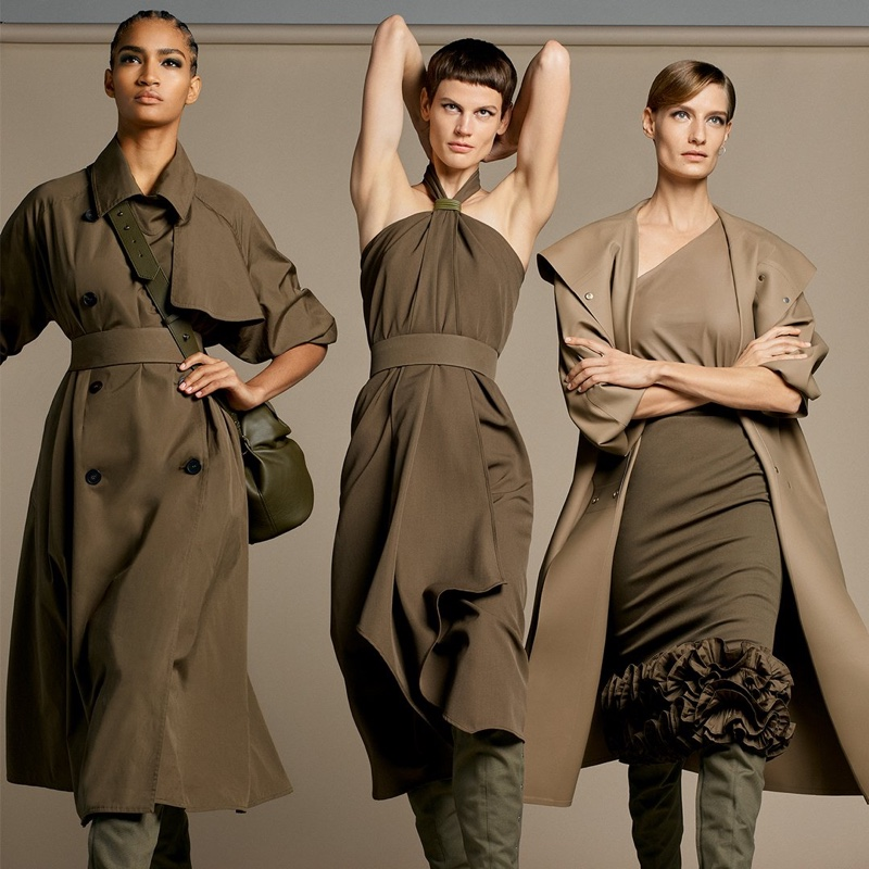An image from the Max Mara spring 2019 advertising campaign