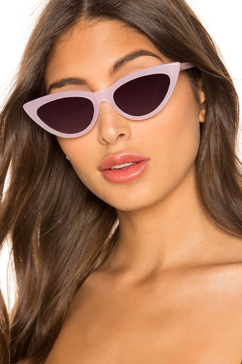 My My My Rumy Sunglasses in Pink with Black Gradient Lenses $108