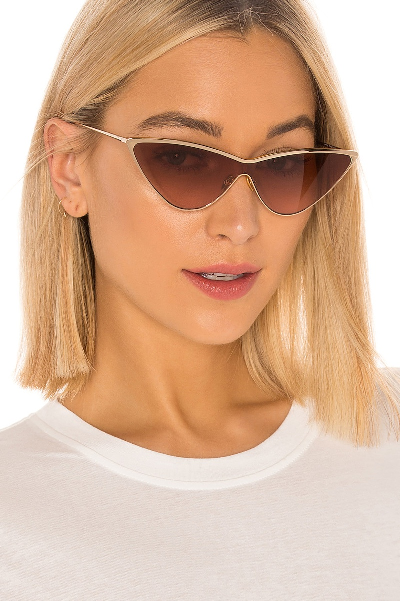My My My Zyon Sunglasses in Gold with Taupe Gradient Lenses $118