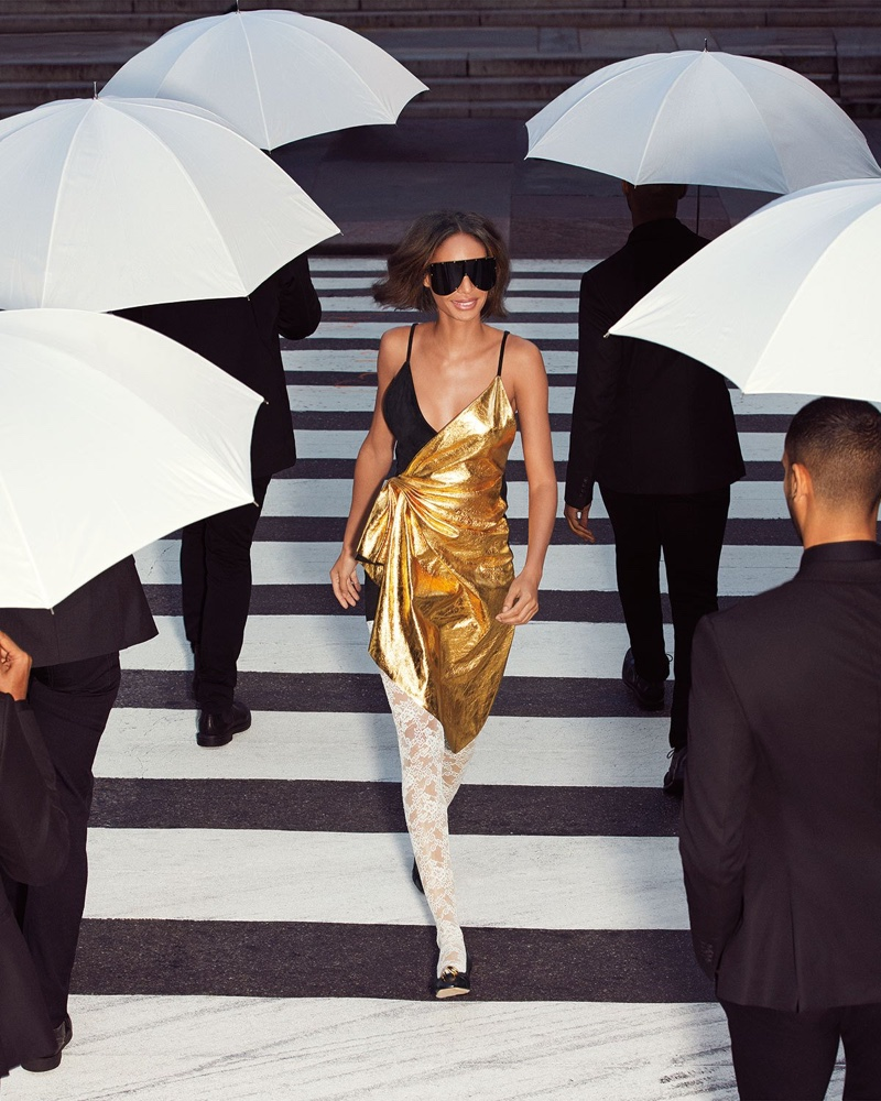 Joan Smalls stars in Neiman Marcus The Art of Fashion spring-summer 2019 campaign