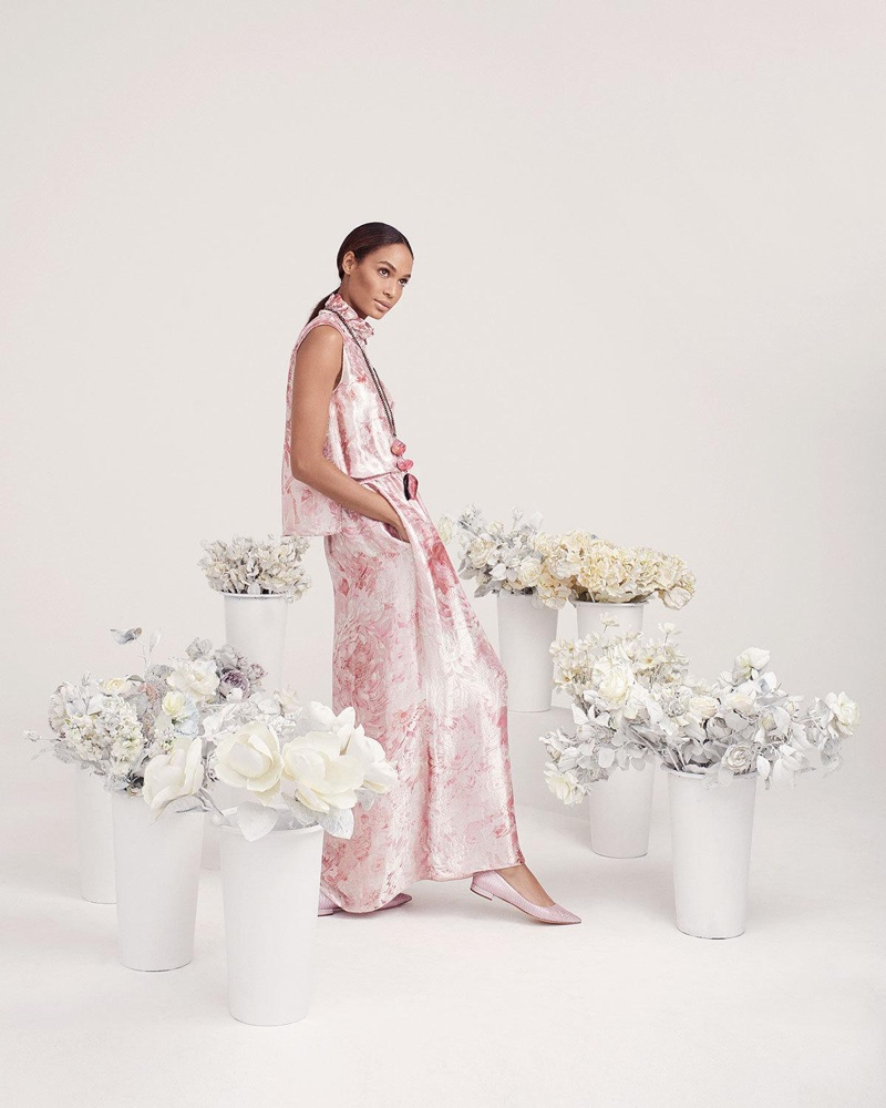 Neiman Marcus taps Joan Smalls for for The Art of Fashion spring 2019 campaign