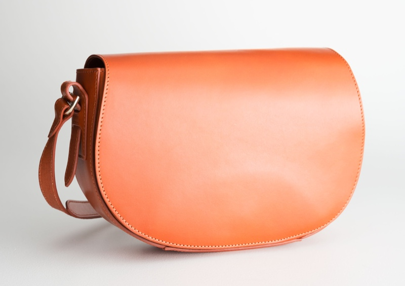& Other Stories Leather Crossbody Saddle Bag $99 (previously $199)