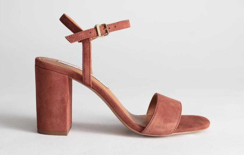 & Other Stories Strappy Block Heel Sandals $99