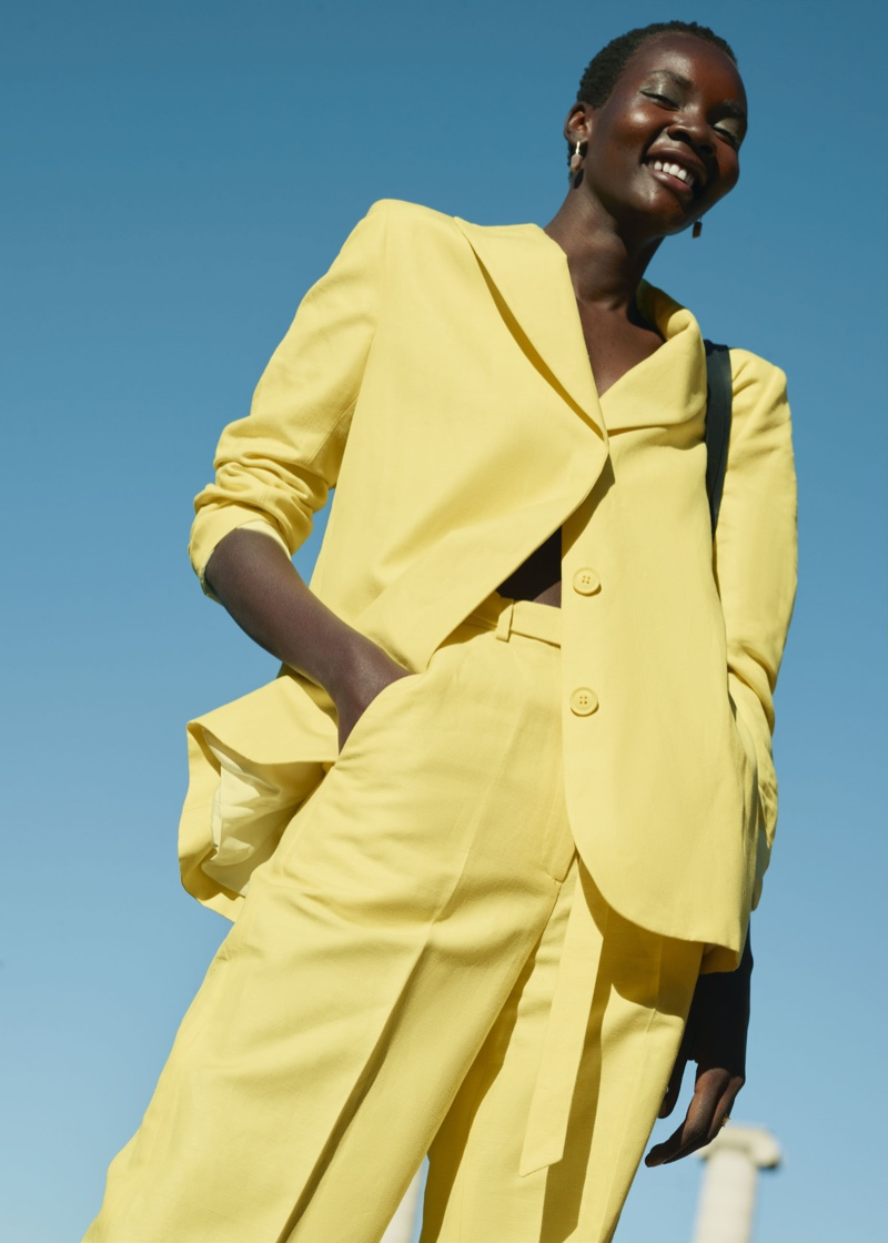 & Other Stories yellow fashion trend