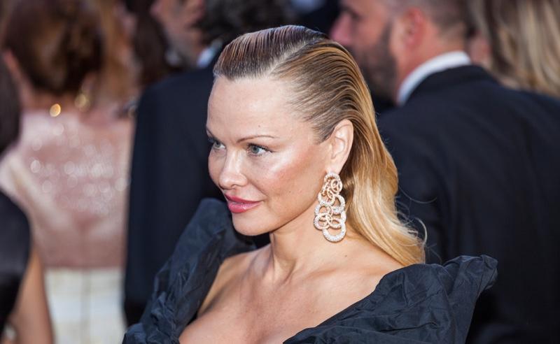 Pamela Anderson at Red Carpet Event