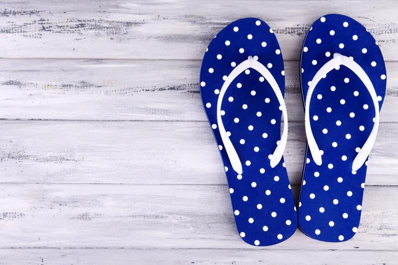 Polka Dot Sandals Flip Flops