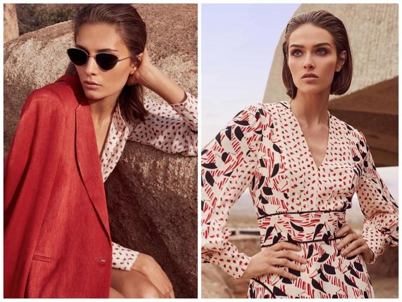 REISS spring-summer 2019 prints