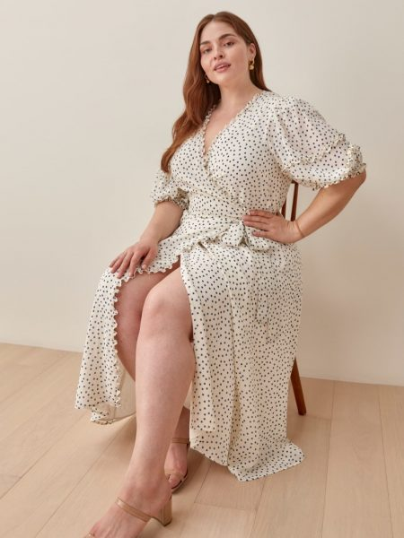 Reformation Extended Sizes Tanna Dress $278