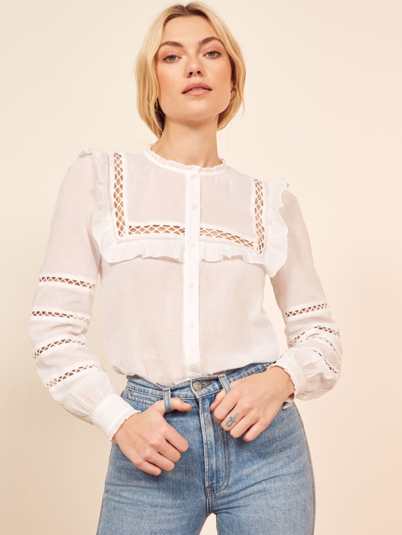 Reformation Rosey Top $148