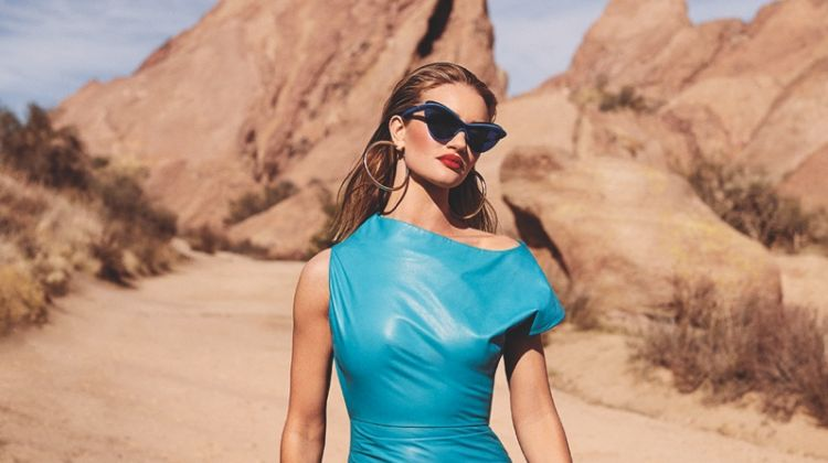 Rosie Huntington-Whiteley is a Desert Vixen for C Magazine