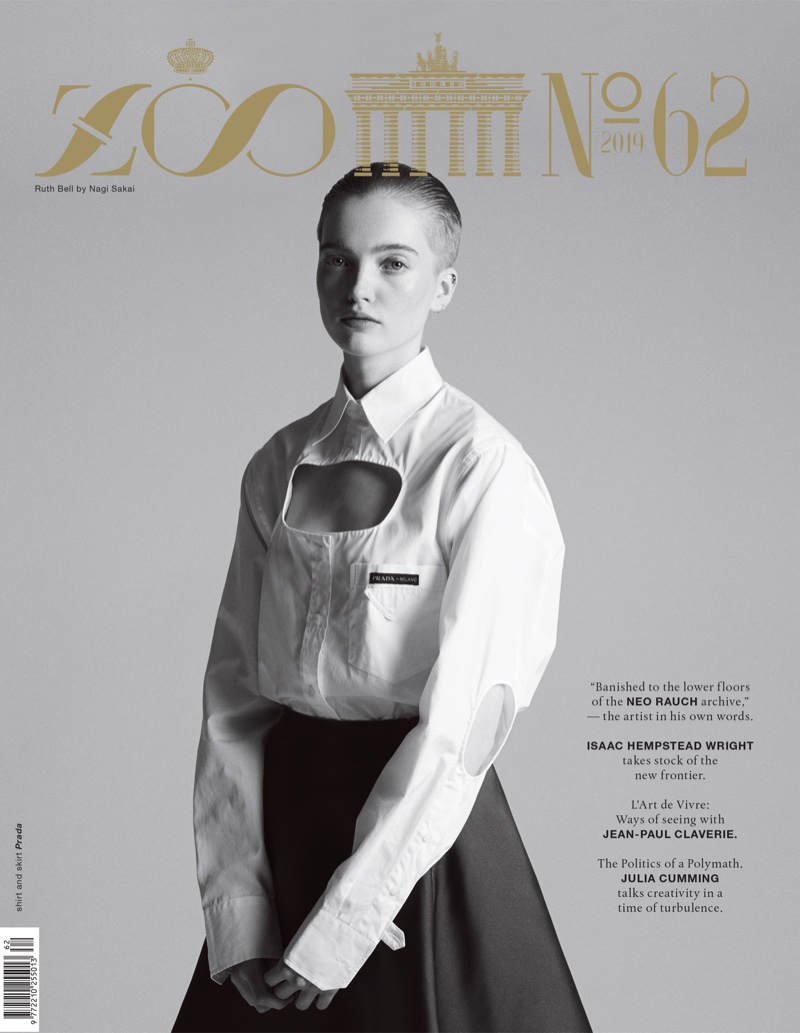 Ruth Bell Spaces Out in Zoo Magazine Cover Story
