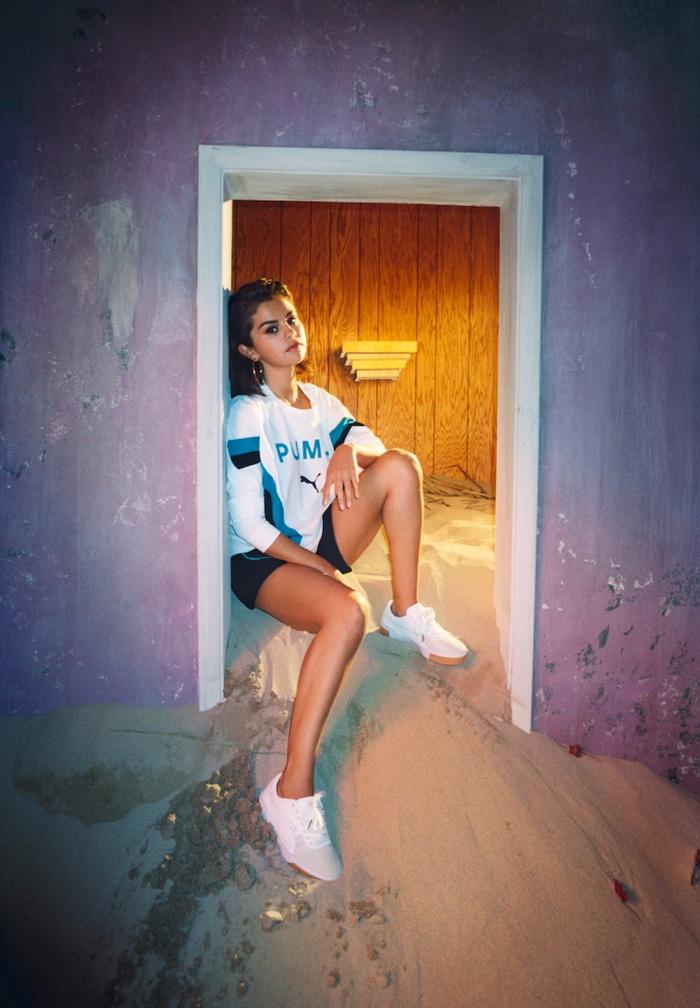 Singer Selena Gomez fronts PUMA Cali Exotic campaign
