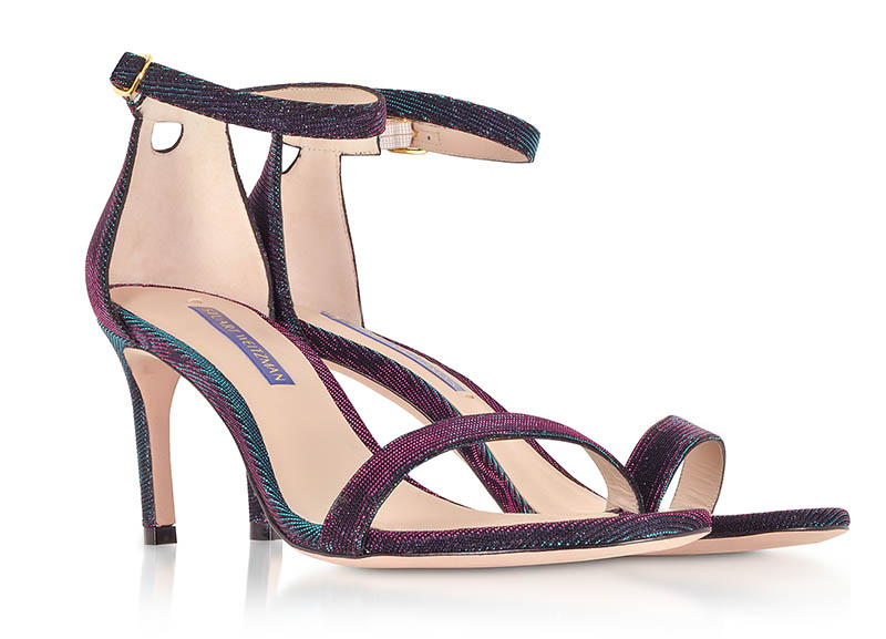 Stuart Weitzman Nunakedstraight Techno Nighttime Sandals $306 (previously $612)