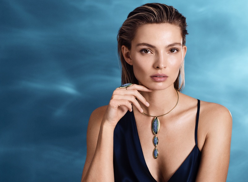 Carola Remer stars in Atelier Swarovski spring-summer 2019 collection