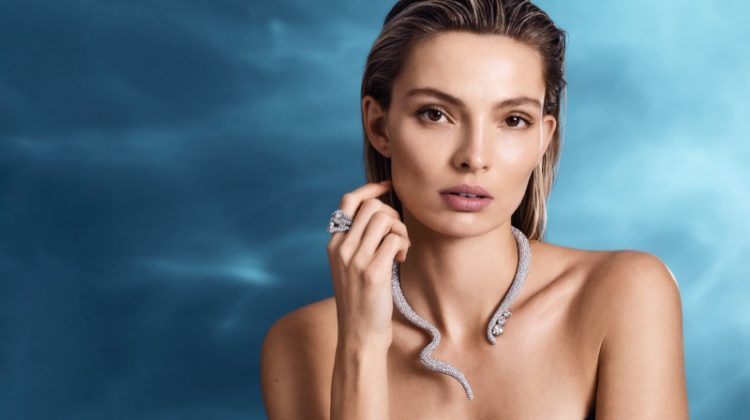 Tigris necklace and ring from Swarovski spring 2019 collection