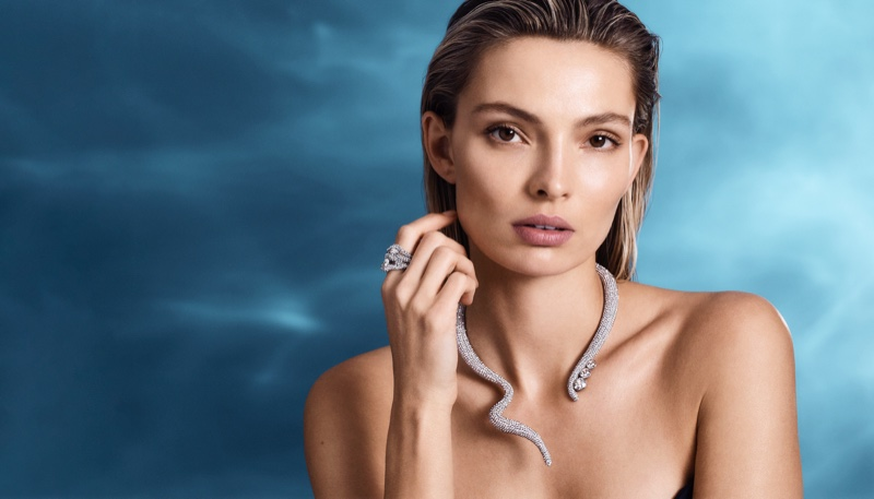 Tigris necklace and ring from Atelier Swarovski spring 2019 collection