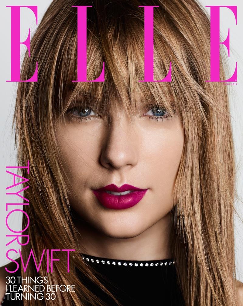 Taylor Swift on ELLE US April 2019 Cover