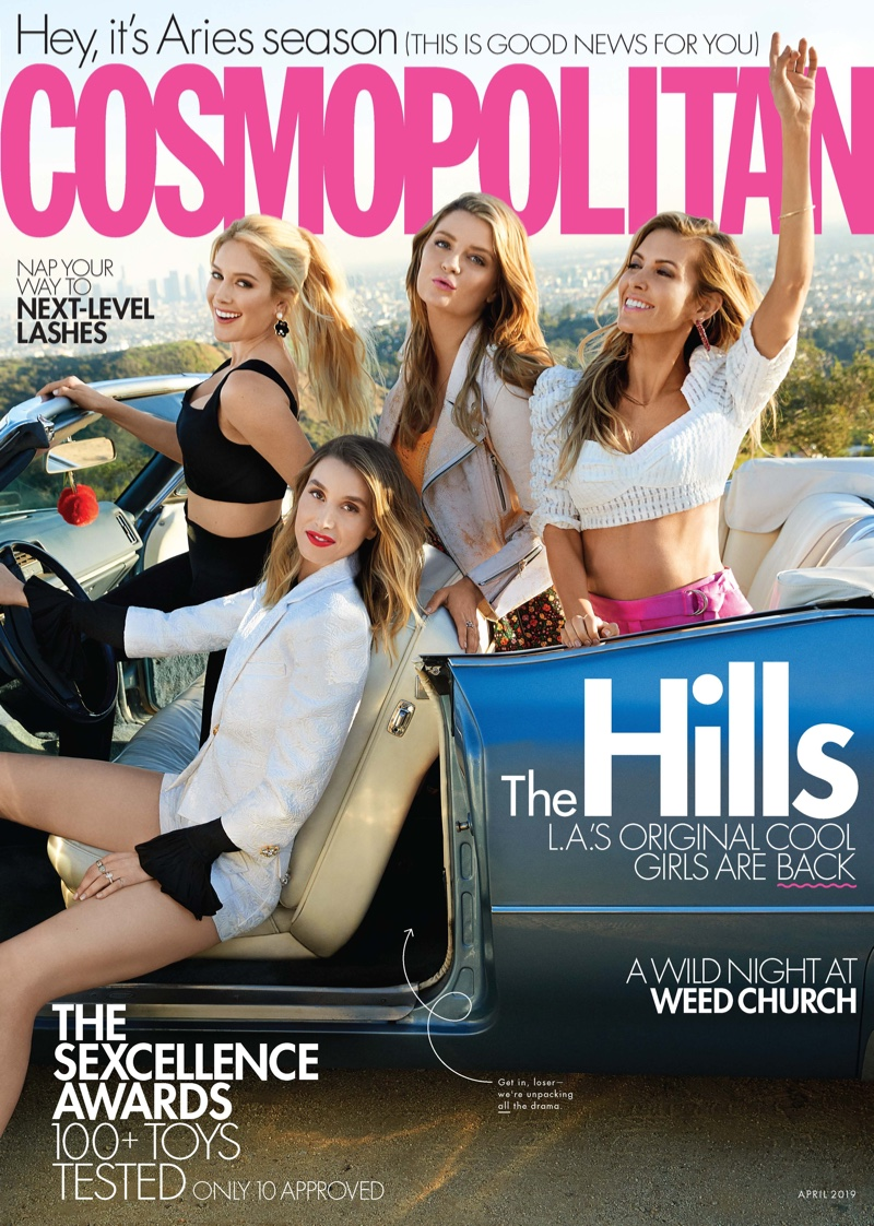 The Hills Cast 2019 Cosmopolitan Cover Photos | Fashion Gone Rogue