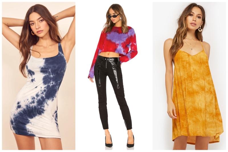 Tie-dye trend women fashion