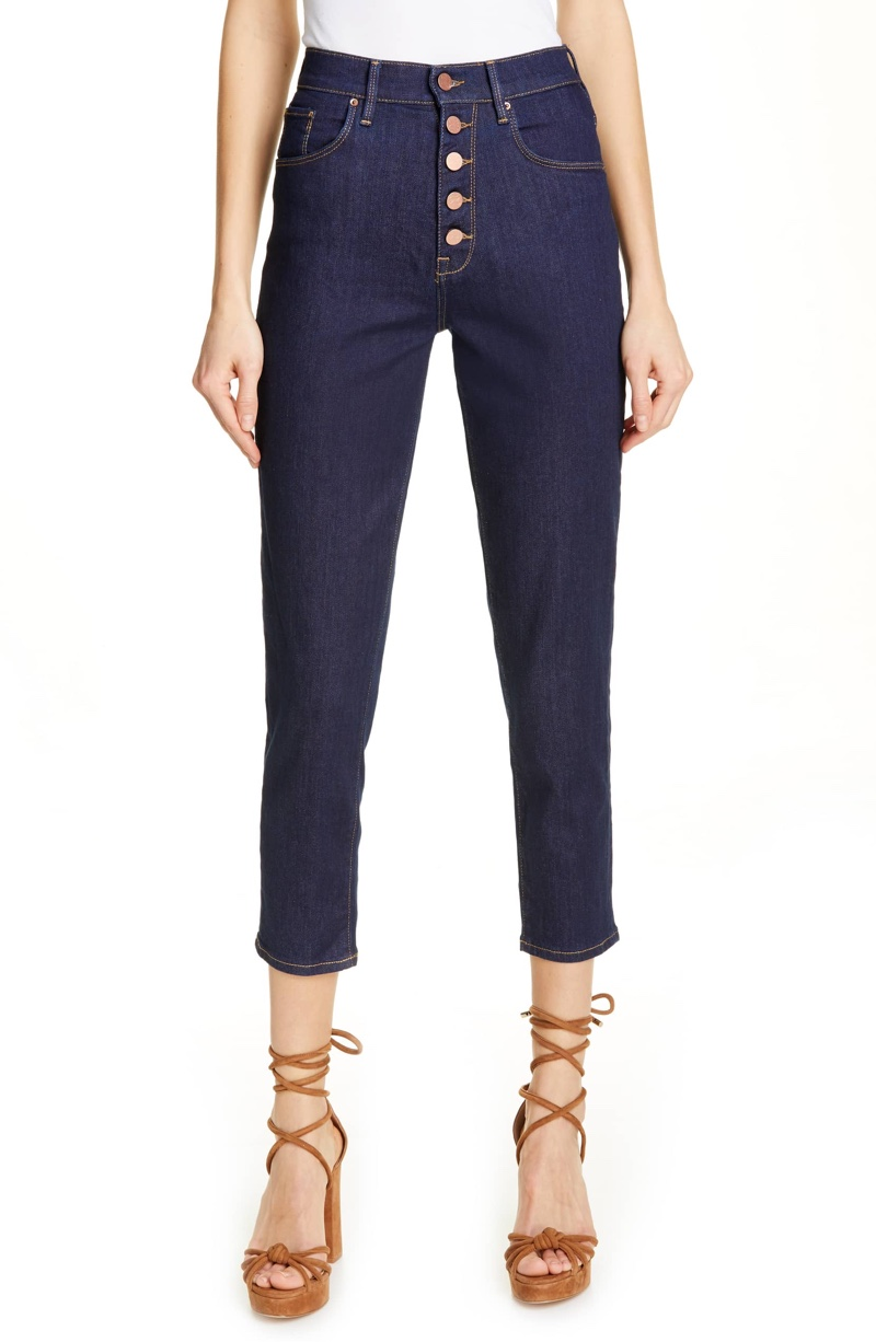 Tommy x Zendaya Cindy High Waist Skinny Jeans $139.50