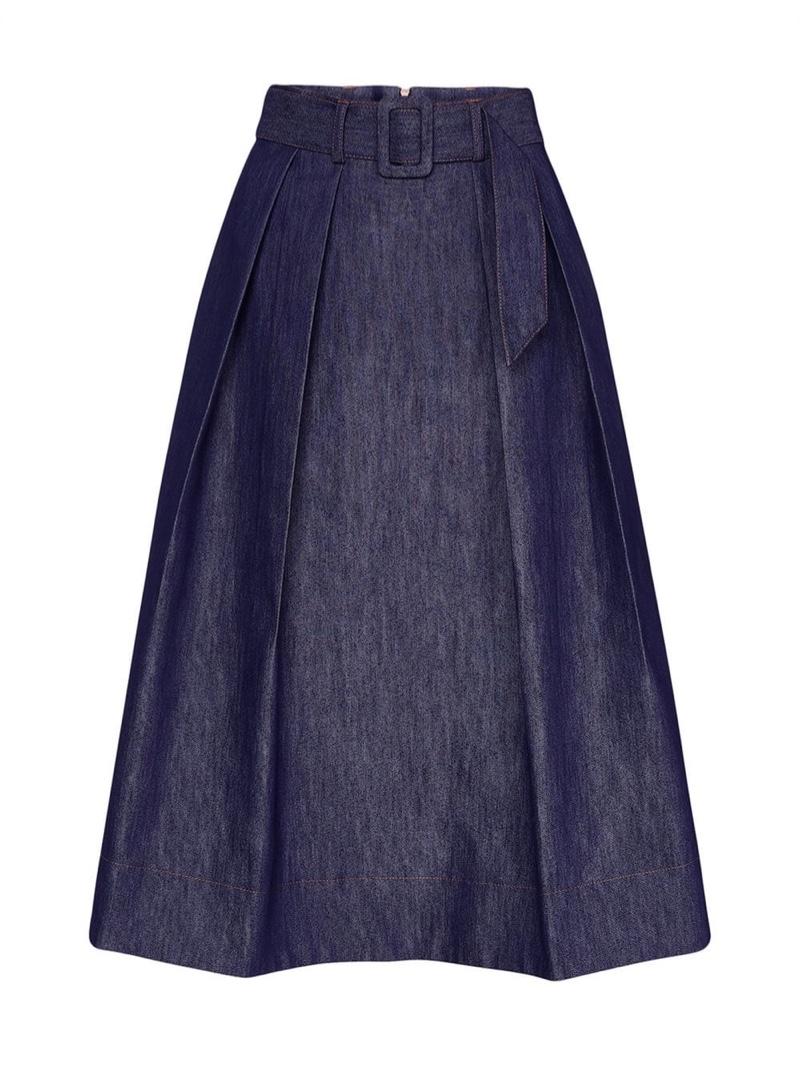Tommy x Zendaya Pleated Skirt $155