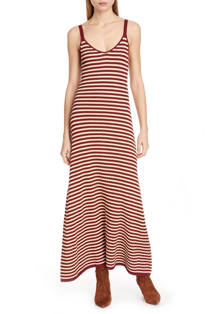 Tommy x Zendaya Stripe Tank Dress $199.50