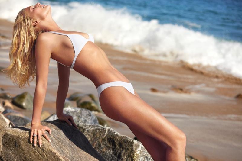 Toni Garrn rocks a bikini in allSisters spring-summer 2019 campaign
