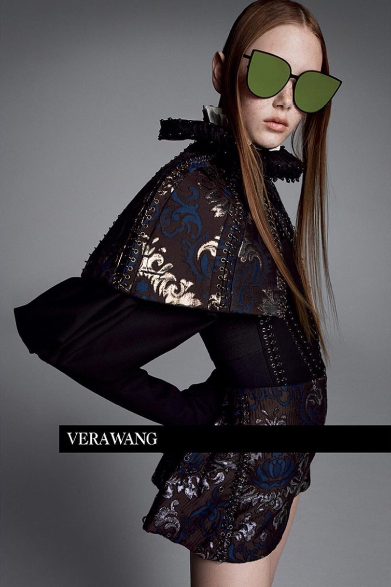 An image from the Vera Wang spring 2019 advertising campaign