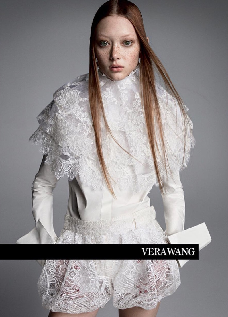 Vera Wang unveils spring-summer 2019 campaign
