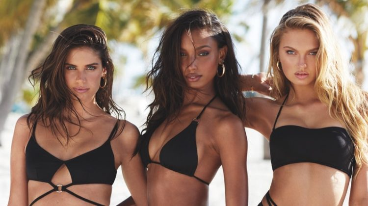 Sara Sampaio, Jasmine Tookes + More Model Victoria's Secret Swim Styles