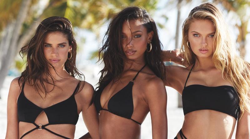8a3f86c02f053 Victoria's Secret Swim 2019 Campaign | Fashion Gone Rogue