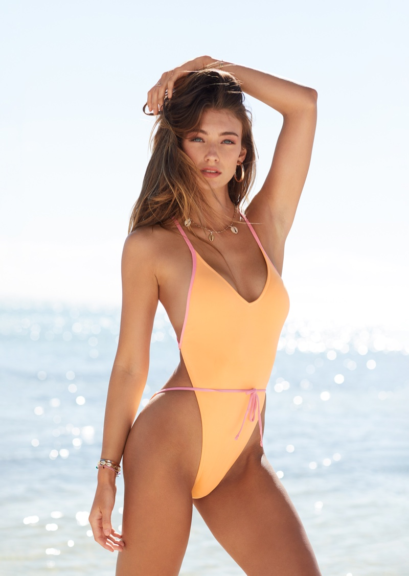 Lorena Rae fronts Victoria's Secret Swim 2019 campaign