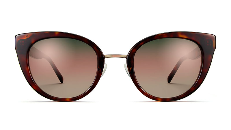Warby Parker Celeste Sunglasses in Red Canyon with Riesling $145