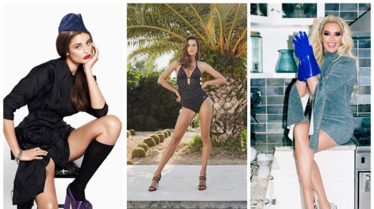 Week in Review | Taylor Hill's New Cover, Alessandra Ambrosio Models Swim, Erika Jayne for Shoedazzle + More