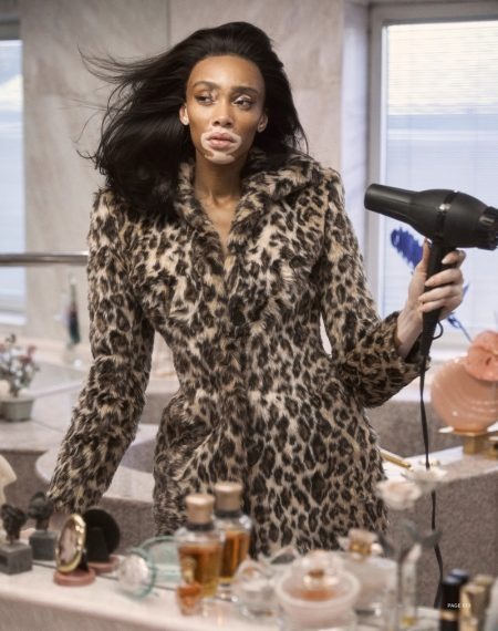 Winnie Harlow Wears Animal Prints in Harper's Bazaar Taiwan