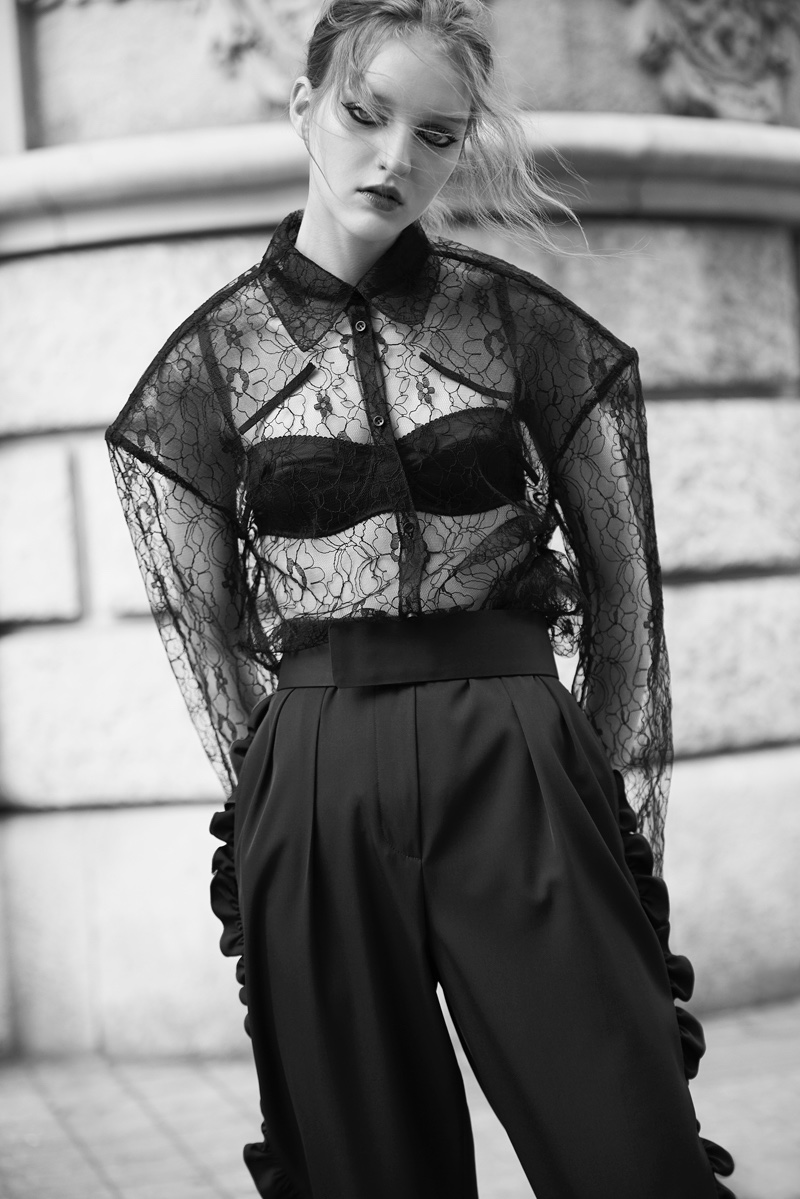 Ana Eva Poses in Enchanting Styles for L'Officiel Thailand