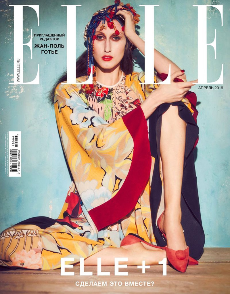 Anna Cleveland Enchants for the Pages of ELLE Russia