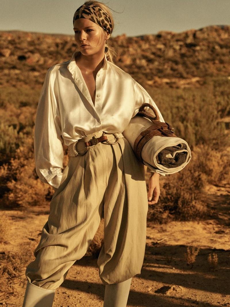Safari outfit for ladies