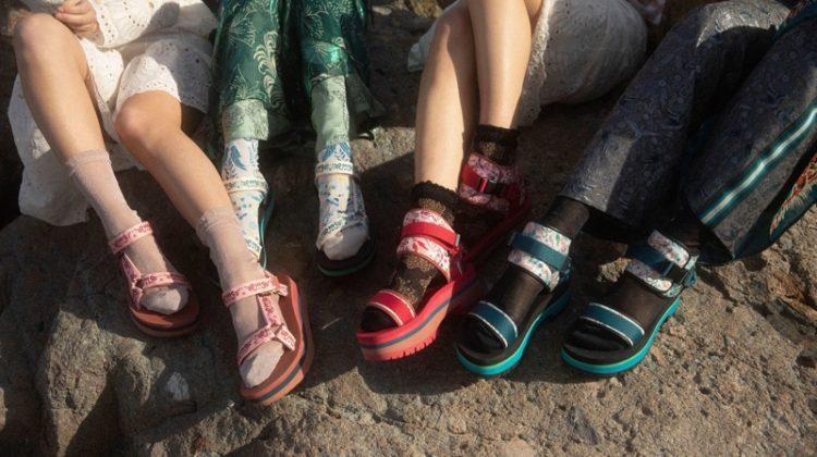 Anna Sui x Teva sandals collaboration