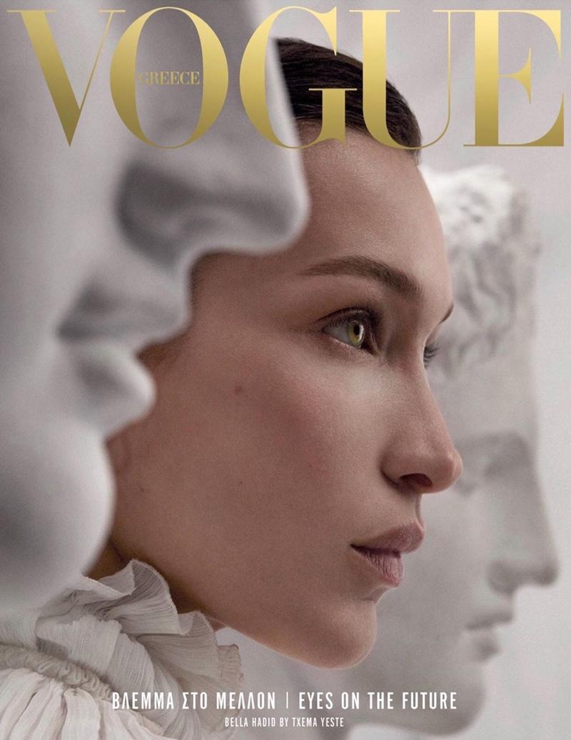Bella Hadid on Vogue Greece April 2019 Cover