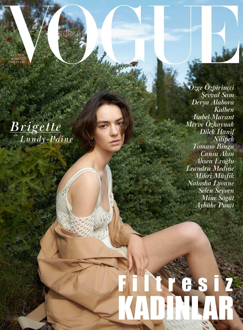 Brigette Lundy-Paine on Vogue Turkey April 2019 Cover