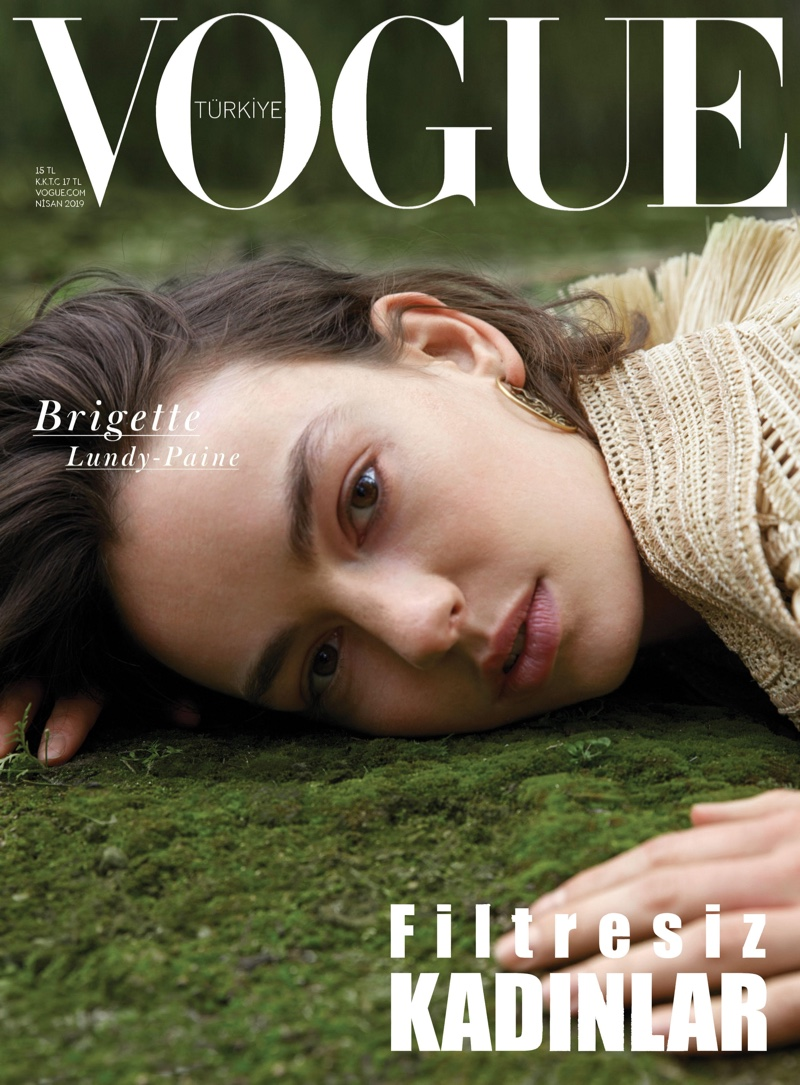 Actress Brigette Lundy-Paine on Vogue Turkey April 2019 Cover