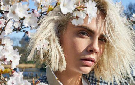 Cara Delevingne Returns for Burberry 'Her Blossom' Fragrance Ad